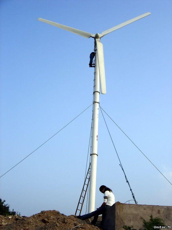 Ветряк на 15 квт своими руками